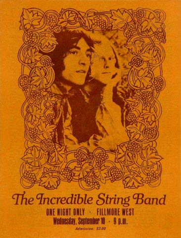 The Incredible String Band Program