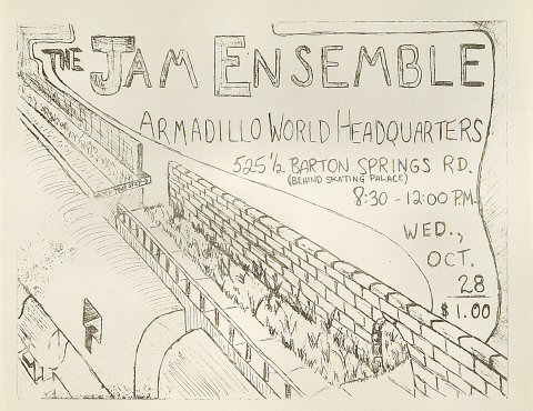 The Jam Ensemble Handbill