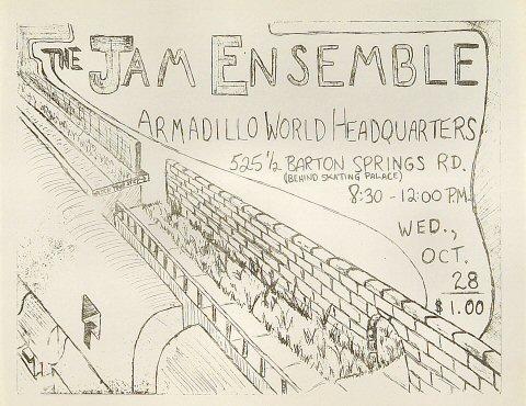 The Jam Ensemble Handbill