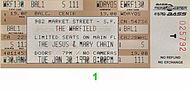 The Jesus &amp; Mary Chain 1990s Ticket
