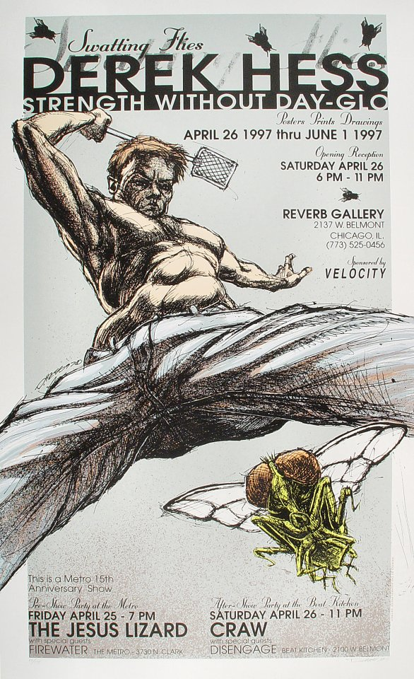 The Jesus Lizard Poster