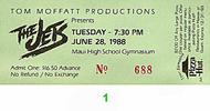 The Jets Vintage Ticket