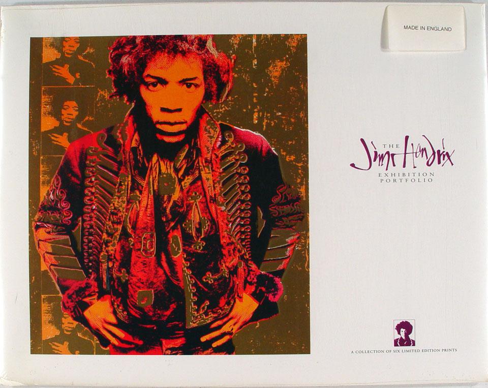 The Jimi Hendrix Exhibition Portfolio Poster