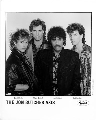 The Jon Butcher Axis Promo Print