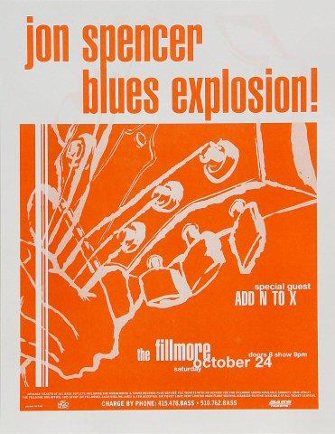 The Jon Spencer Blues ExplosionPoster
