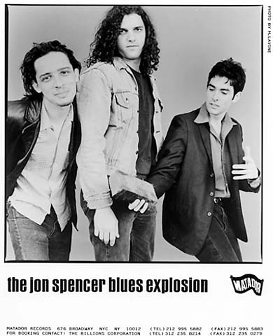 The Jon Spencer Blues ExplosionPromo Print