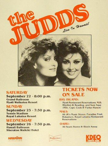 The Judds Handbill