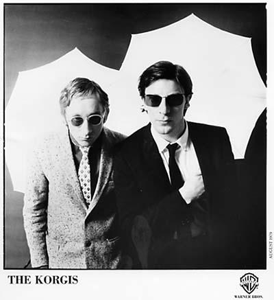 The Korgis Promo Print