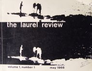 The Laurel Review Book