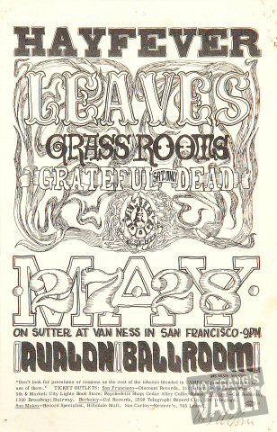 The Leaves (60s) Handbill