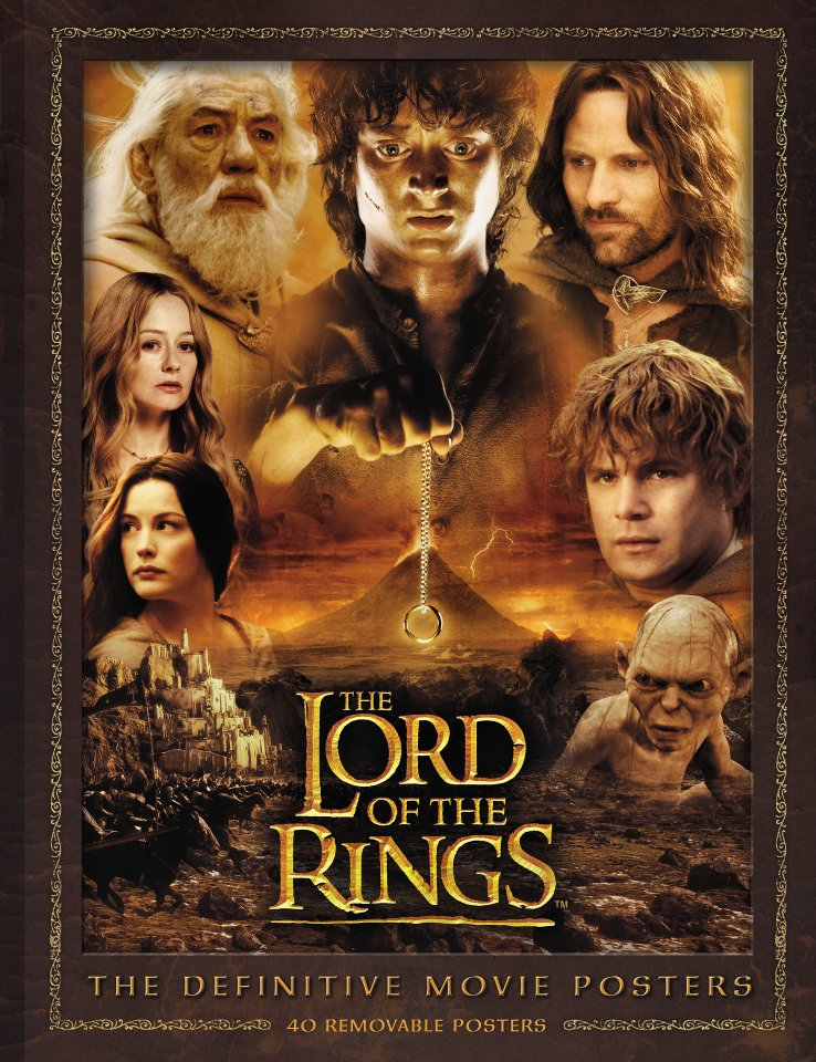 Lord Of The Rings Definitive Movie Posters