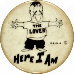 The Lover: Here I AmVintage Pin