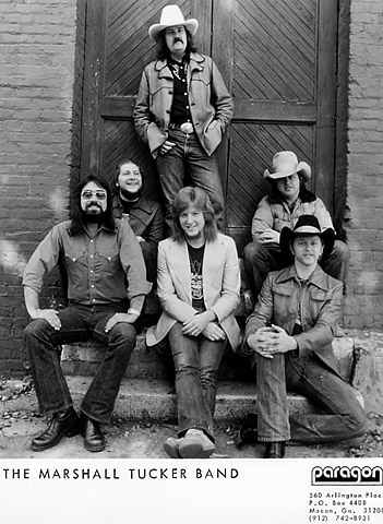 The Marshall Tucker Band Promo Print