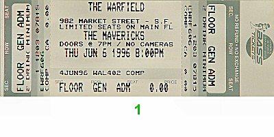 The Mavericks1990s Ticket