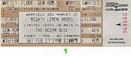 The Mighty Lemon Drops 1990s Ticket