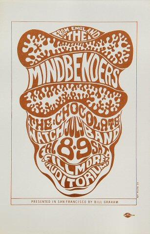 The Mindbenders Handbill