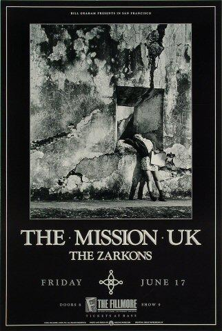 The Mission U.K. Poster