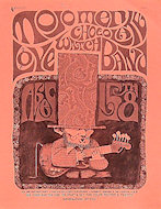 The Mojo Men Handbill