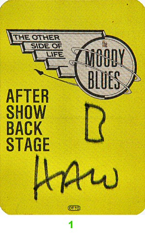 The Moody BluesBackstage Pass