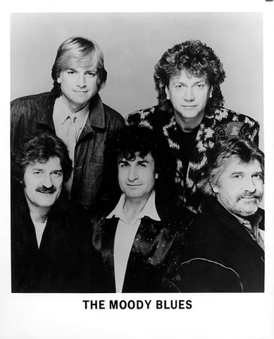 The Moody BluesPromo Print