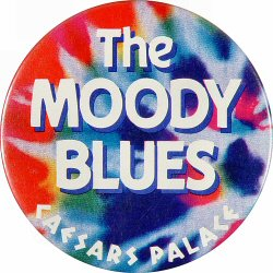 The Moody Blues Vintage Pin