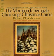 "The Mormon Tabernacle Choir Sings Christmas Carols Vinyl 12"" (Used)"