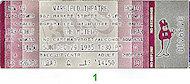 The Motels Vintage Ticket
