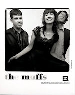 The Muffs Promo Print