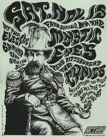 The Mystic Eyes Handbill