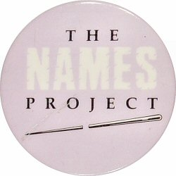 The Names Project Vintage Pin