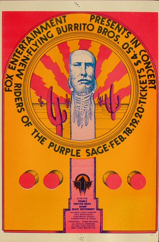 The New Riders of the Purple Sage Handbill