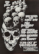 Jerry Garcia and Merl Saunders Handbill