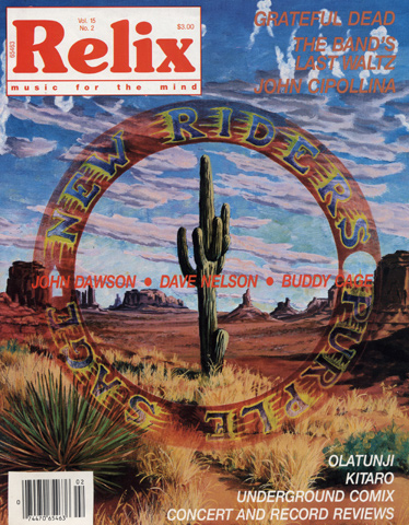 The New Riders of the Purple Sage Magazine