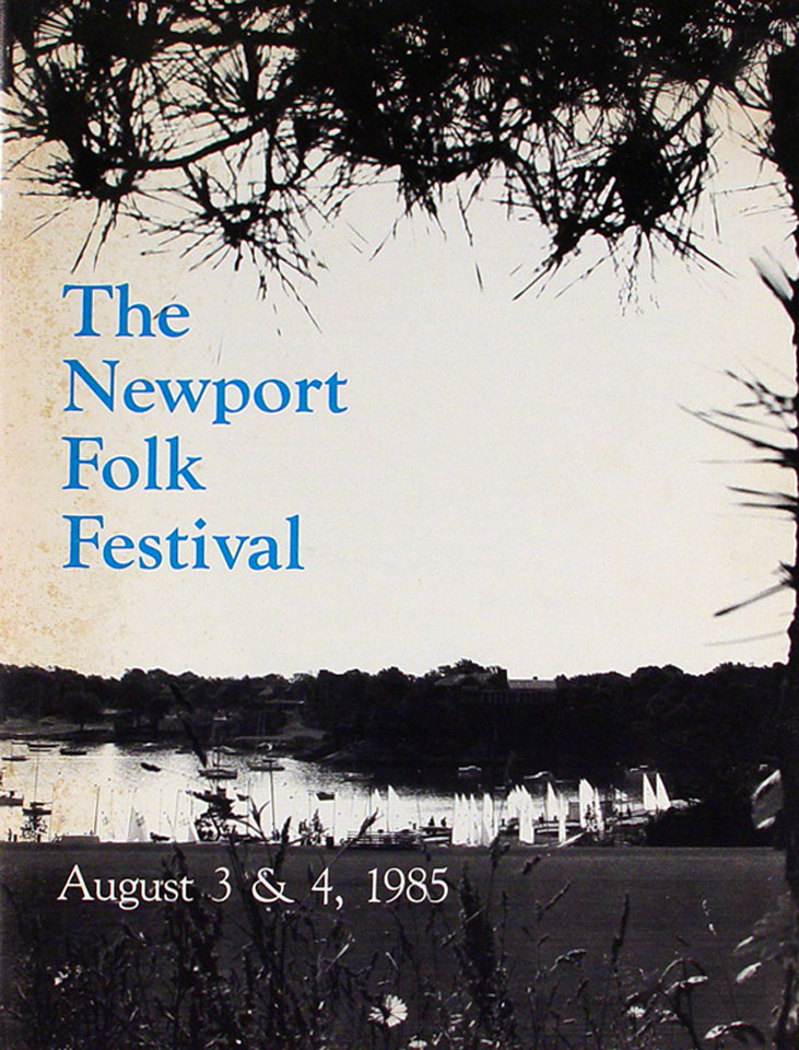 The Newport Folk Festival Program