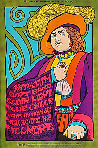 The Nitty Gritty Dirt Band Handbill