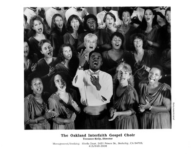 The Oakland Interfaith Gospel Choir Promo Print