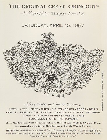 The Original Great Springout Handbill