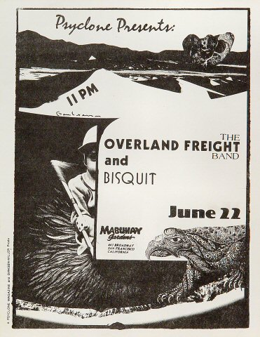 The Overland Freight BandHandbill