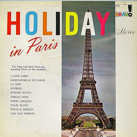 The Paris Left Bank Musicians Vinyl (Used)