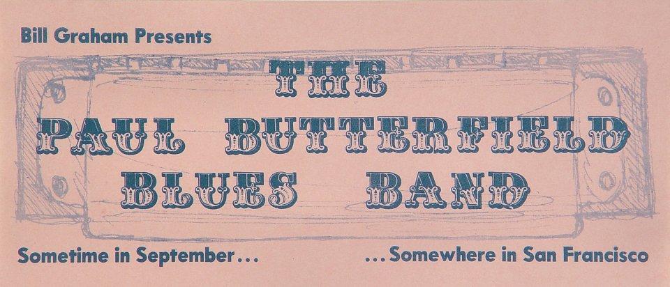 The Paul Butterfield Blues BandHandbill