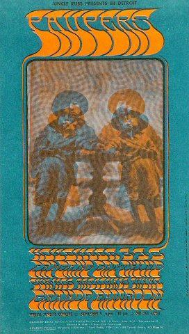 The Paupers Handbill