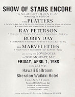 The Platters Handbill