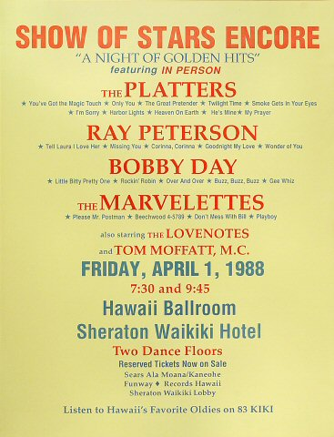 The Platters Poster