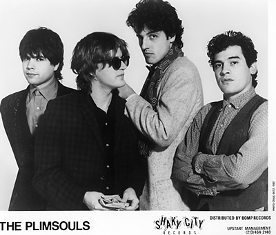 The Plimsouls Promo Print