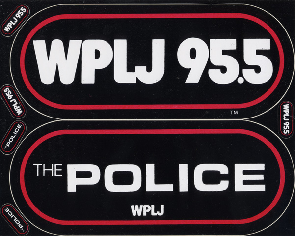 The Police Sticker
