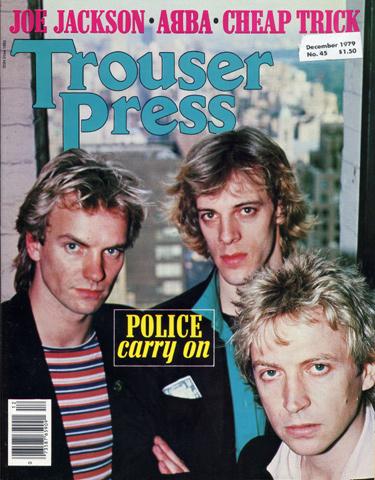 The PoliceTrouser Press Magazine