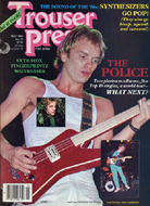 The Police Trouser Press Magazine