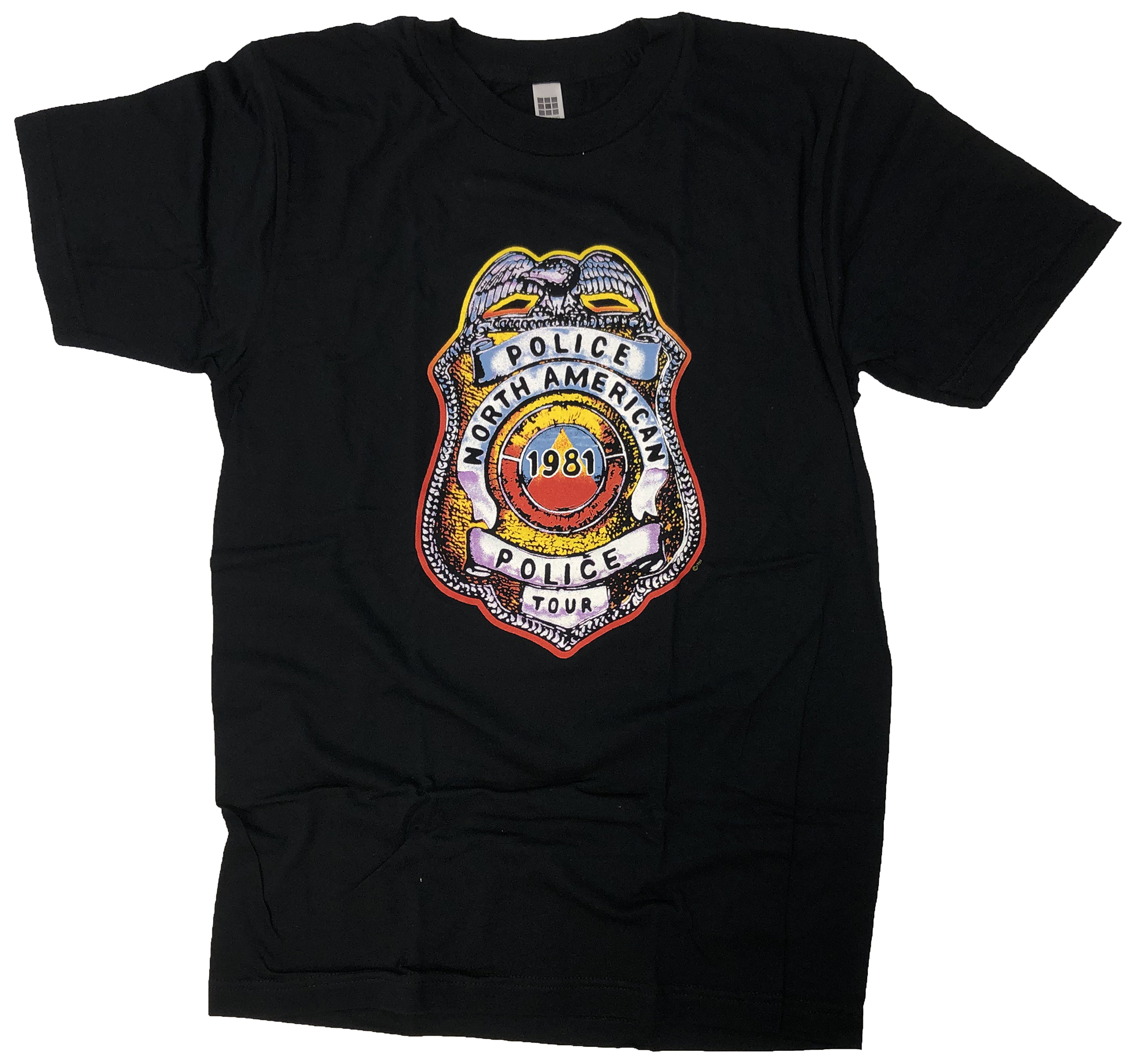 The PoliceWomen's Retro T-Shirt