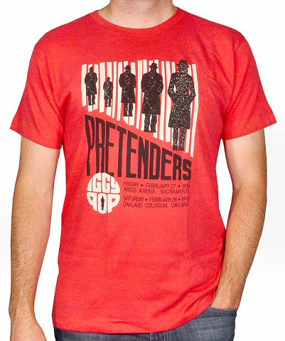The Pretenders Men's Retro T-Shirt