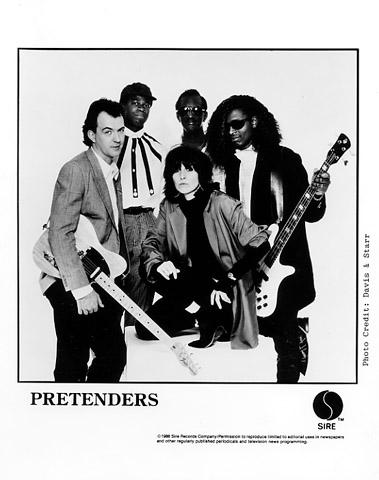 The PretendersPromo Print